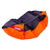 sedací vak BeanBag Duo 189x140 cm fluo orange - licorice