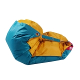 sedací vak BeanBag Duo 189x140 cm golden - sea green