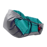 sedací vak BeanBag Duo 189x140 cm sea green - gray